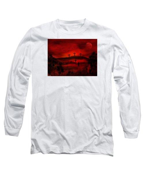 Golgotha Long Sleeve T-Shirt by Bernd Hau