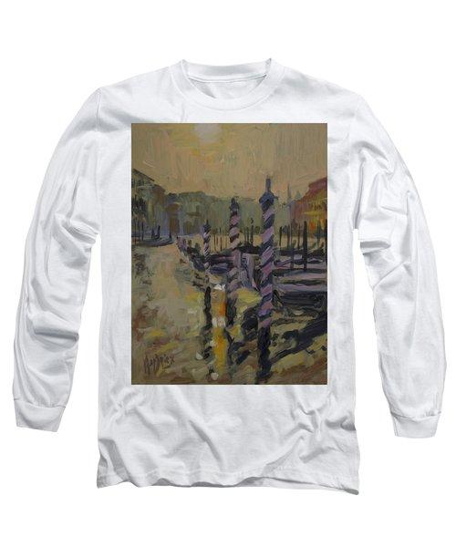 Gondoles Venic Afternoon Long Sleeve T-Shirt
