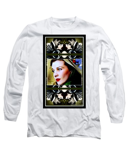 Gone With The Wind Long Sleeve T-Shirt by Wbk