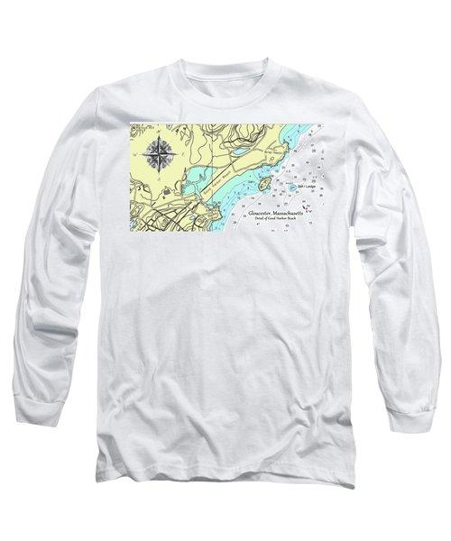 Good Harbor Beach Long Sleeve T-Shirt