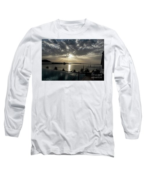 Good Morning Vacation Long Sleeve T-Shirt by Arik Baltinester
