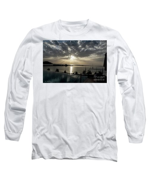 Long Sleeve T-Shirt featuring the photograph Good Morning Vacation by Arik Baltinester