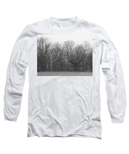 Good Vs Evil Trees Long Sleeve T-Shirt