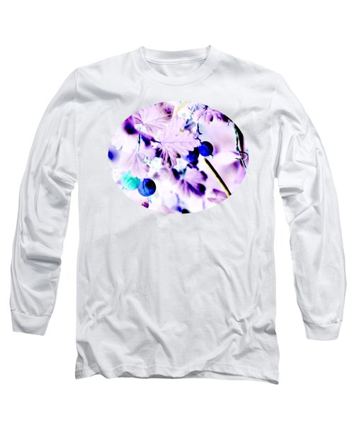 Long Sleeve T-Shirt featuring the digital art Gooseberries Revisited by Aliceann Carlton