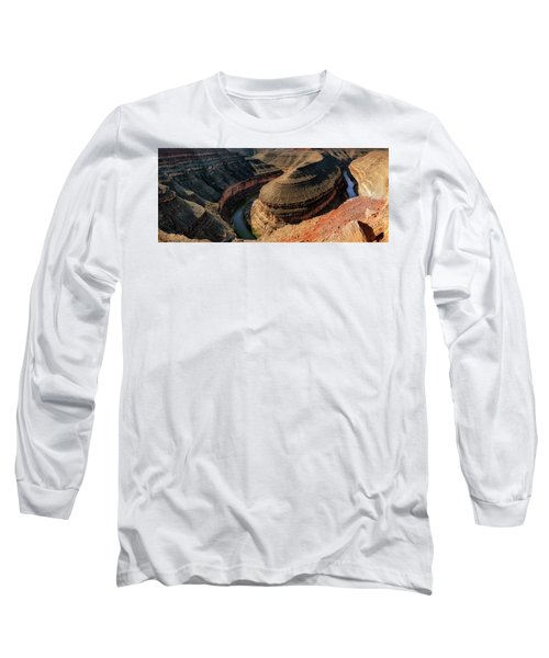 Goosenecks State Park Overlook Long Sleeve T-Shirt