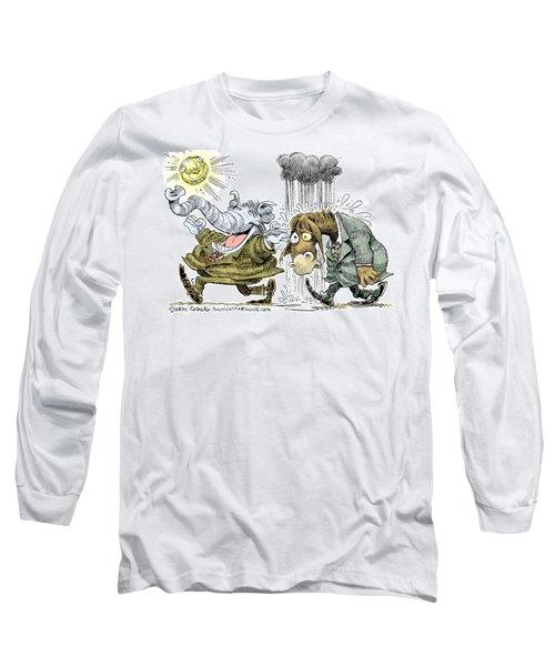 Gop Glee And Dem Doom Long Sleeve T-Shirt