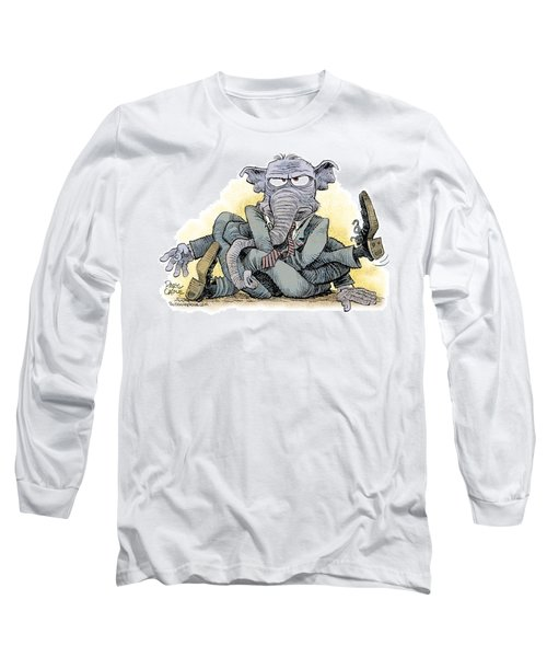 Gop Tied Up In A Knot Long Sleeve T-Shirt