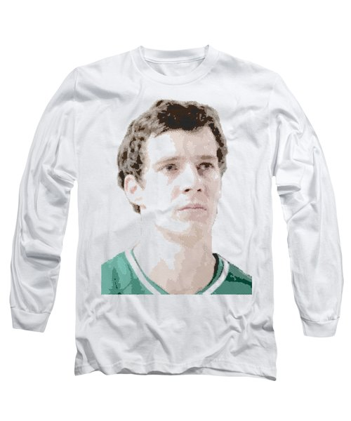 Goran Dragic - Parallel Hatching Long Sleeve T-Shirt