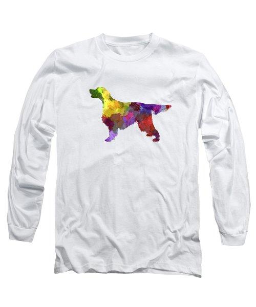 Gordon Setter In Watercolor Long Sleeve T-Shirt