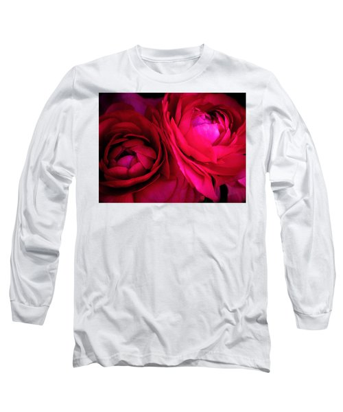 Gorgeous Sisters Long Sleeve T-Shirt by Rachel Mirror