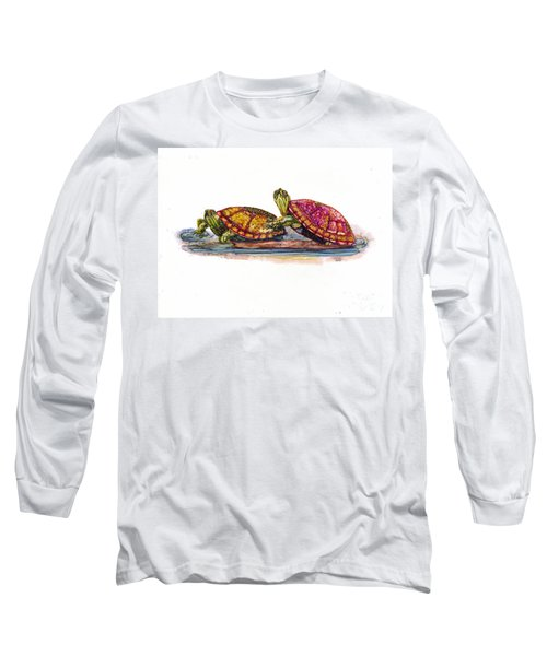 Spring Turtles Long Sleeve T-Shirt