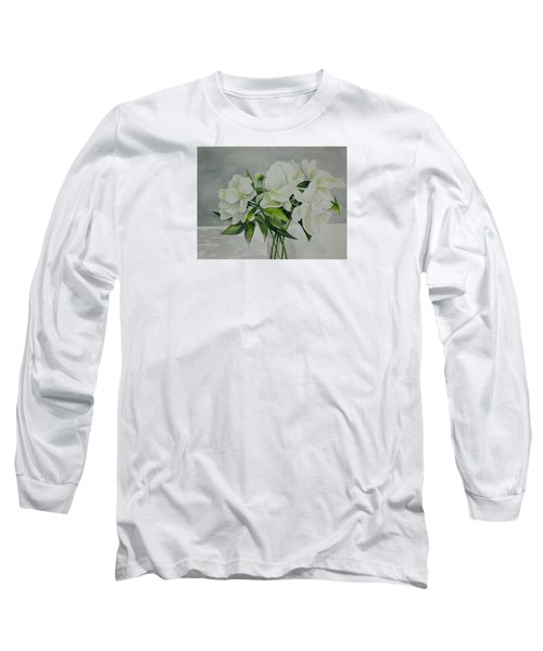 Graceful Peonies Long Sleeve T-Shirt