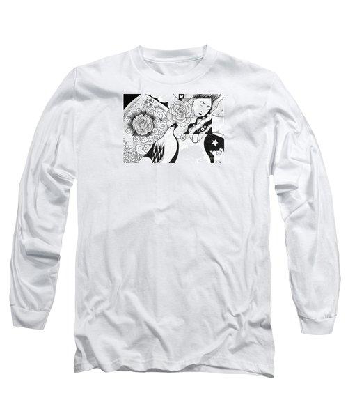 Gracefully Long Sleeve T-Shirt by Helena Tiainen