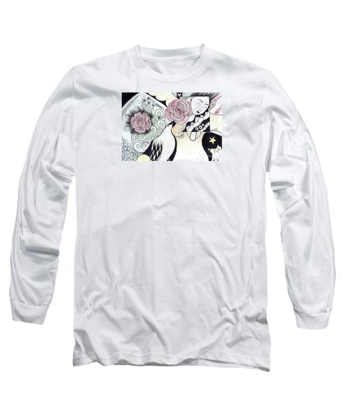 Gracefully - In Color Long Sleeve T-Shirt by Helena Tiainen