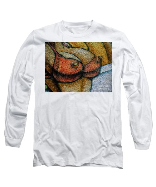 Graffiti-surfgirl_04 Long Sleeve T-Shirt