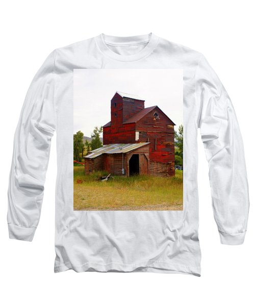 Grain Elevator Long Sleeve T-Shirt
