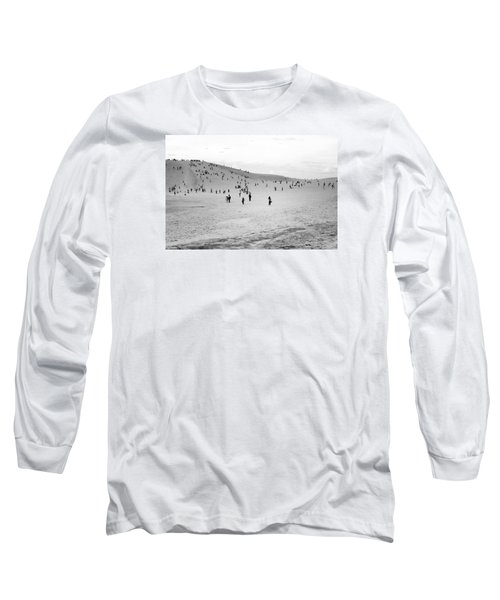 Grains Of Sand Long Sleeve T-Shirt by Hayato Matsumoto