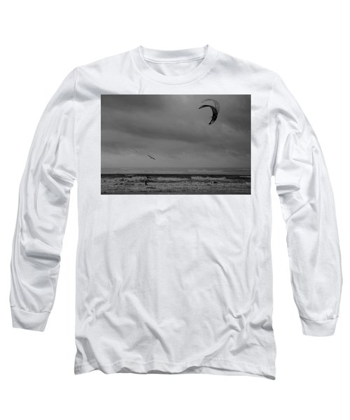 Grainy Wind Surf Long Sleeve T-Shirt