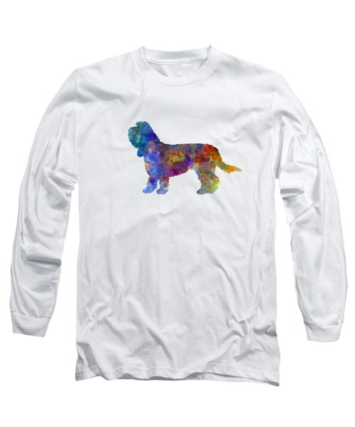 Grand Basset Griffon Vendeen In Watercolor Long Sleeve T-Shirt