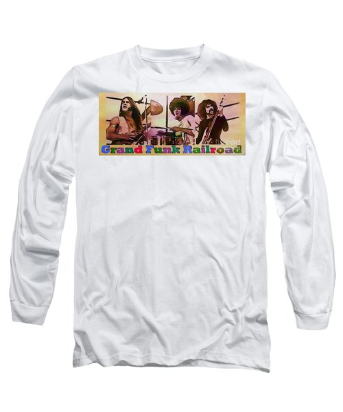 Grand Funk Railroad Long Sleeve T-Shirt