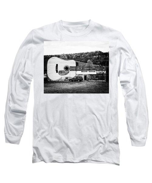 Long Sleeve T-Shirt featuring the photograph Grand Guitar by Alan Raasch