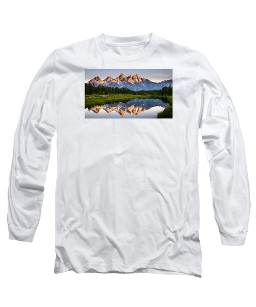 Grand Teton Awakening Long Sleeve T-Shirt