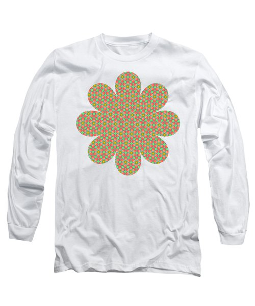 Grandma's Flowers Long Sleeve T-Shirt