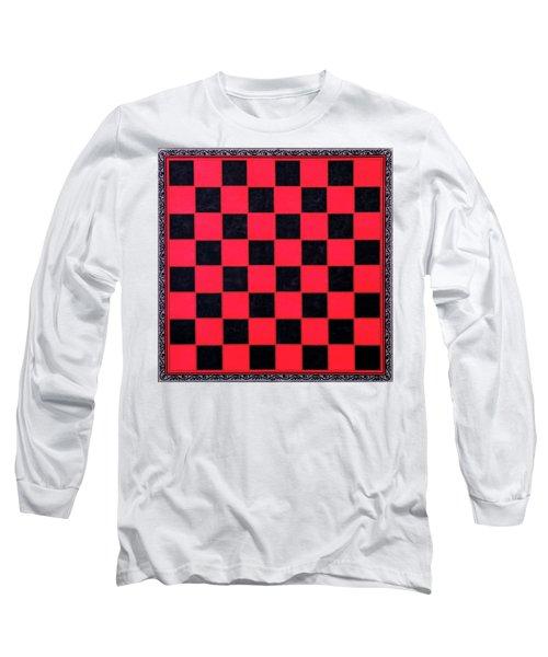 Grandpa's Checkerboard Long Sleeve T-Shirt