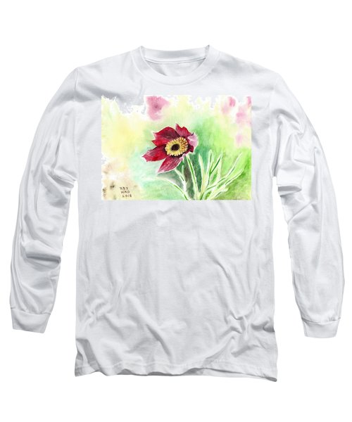 Granny Flower 2 Long Sleeve T-Shirt
