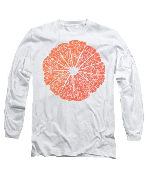 Grapefruit To Suit Long Sleeve T-Shirt