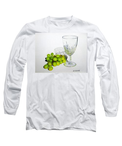Grapes And Crystal Long Sleeve T-Shirt