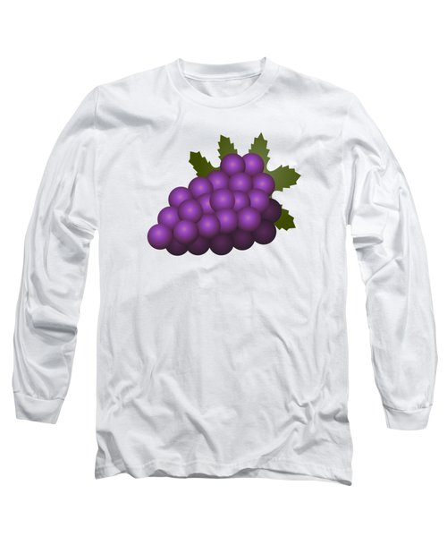 Grapes Fruit Long Sleeve T-Shirt