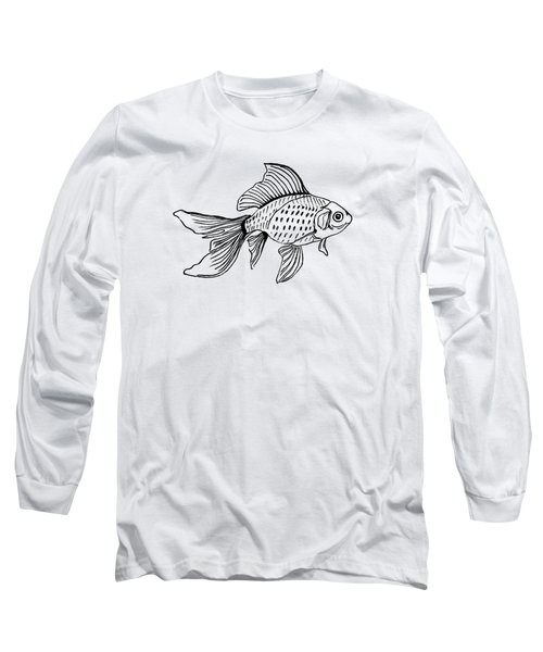 Graphic Fish Long Sleeve T-Shirt