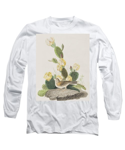 Grass Finch Or Bay Winged Bunting Long Sleeve T-Shirt