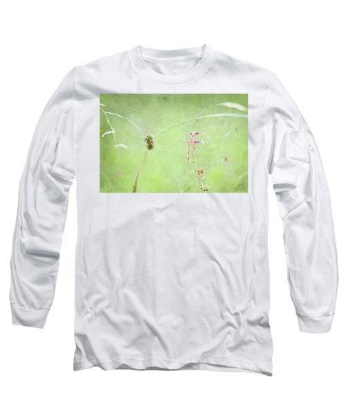 Grasses And Blooms Long Sleeve T-Shirt