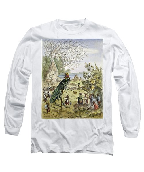 Grasshopper And Ant Long Sleeve T-Shirt