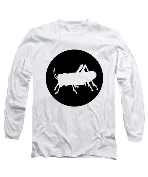 Grasshopper Long Sleeve T-Shirt by Mordax Furittus
