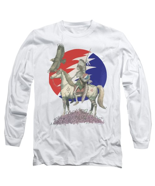 Grateful Dead Hero Long Sleeve T-Shirt