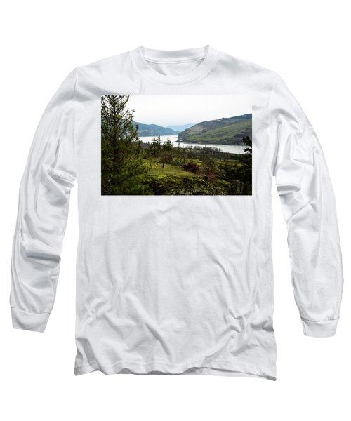 Gray Skies Around The Bend Long Sleeve T-Shirt