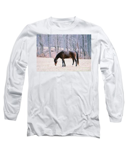 Grazing Long Sleeve T-Shirt by Polly Peacock