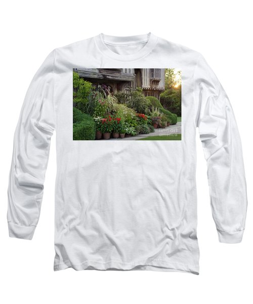 Great Dixter House And Gardens At Sunset 2 Long Sleeve T-Shirt