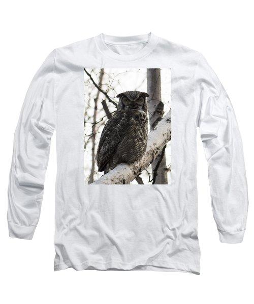 Great Horned Long Sleeve T-Shirt