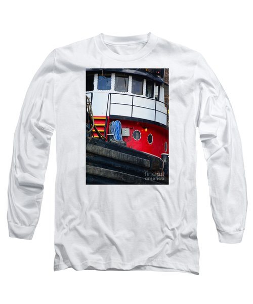 Great Lakes Tugboat Long Sleeve T-Shirt