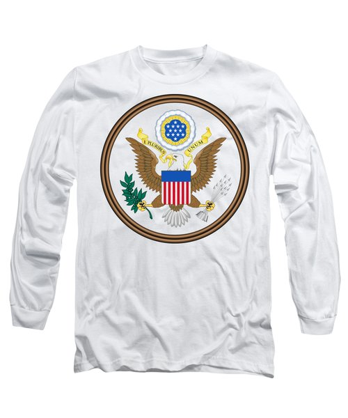 Great Seal Of The United States Long Sleeve T-Shirt