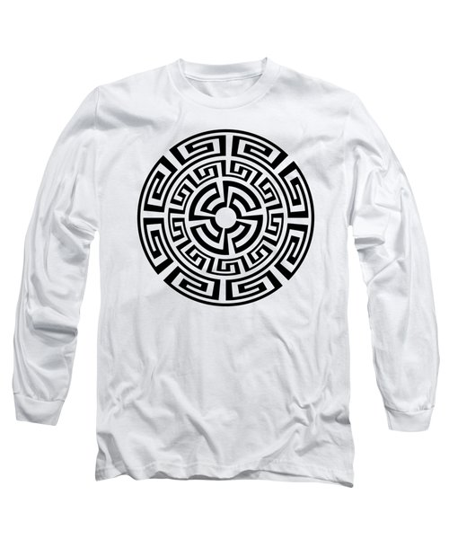 Greek Sun Long Sleeve T-Shirt