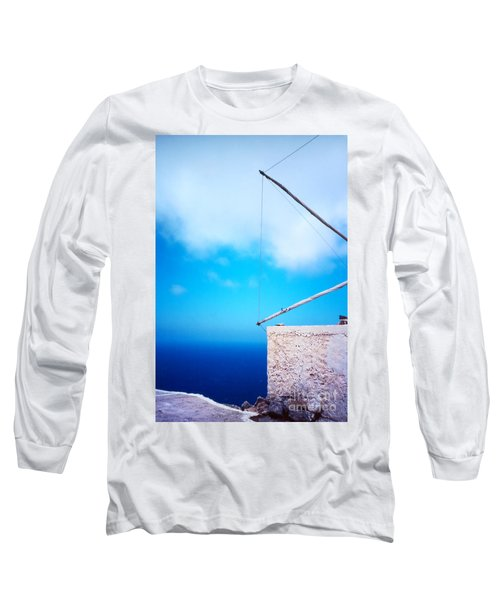 Greek Windmill Long Sleeve T-Shirt