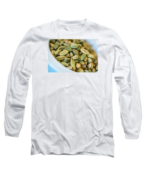 Green Cardamom  Long Sleeve T-Shirt