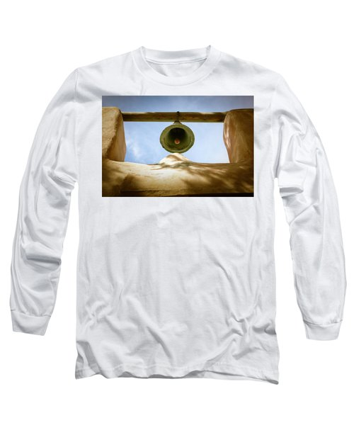 Long Sleeve T-Shirt featuring the photograph Green Church Bell by Marilyn Hunt