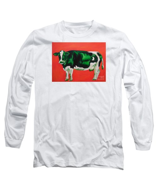 Green Cow Long Sleeve T-Shirt