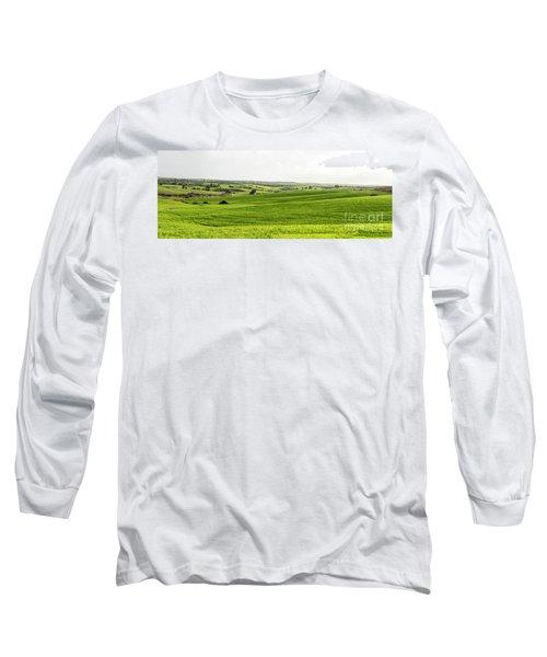 Green Fields. Long Sleeve T-Shirt